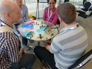 Playing the Lean Startup Game at Lean Agile Scotland 2013